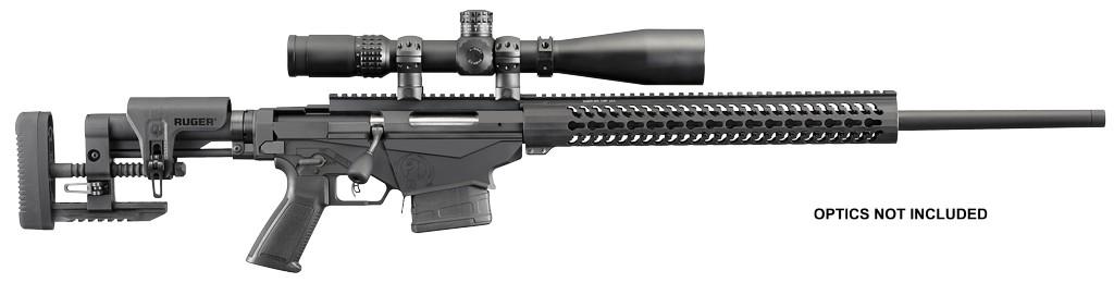 """RUGER Bolt 308 Winchester 20"""" 10+1 Folding Adjustable Black Stk Black"""