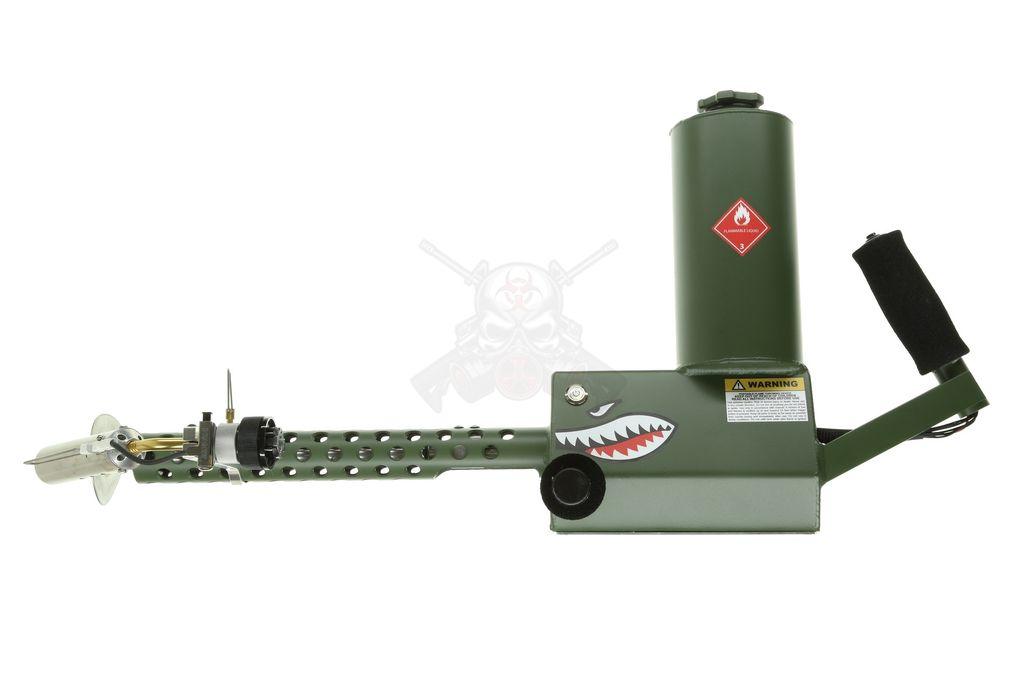 Ion Productions Team XM42 Flamethrower Gen 3 - Powdercoated OD Green RH
