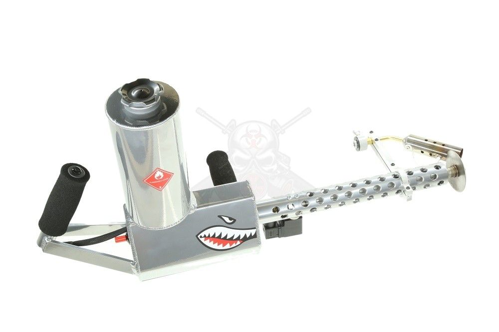 Ion Productions Team XM42 Flamethrower Gen 3 - Polished Aluminum RH