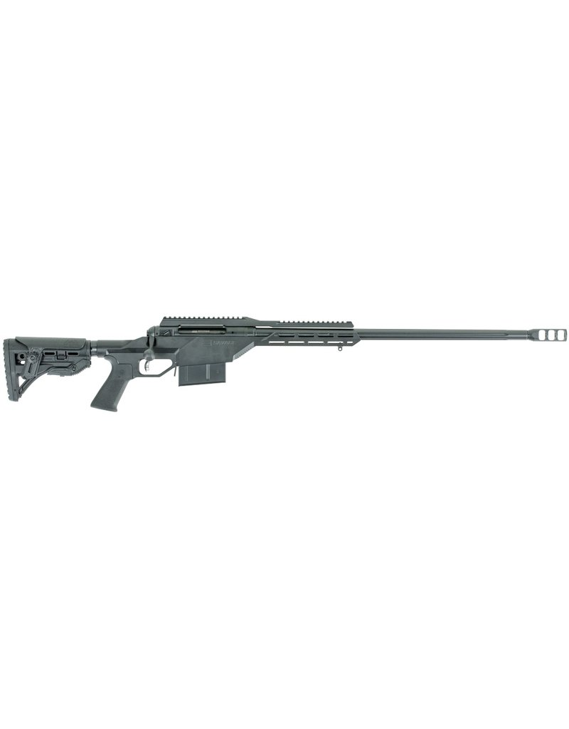 "Savage Savage 110BA Stealth Bolt 338 Lapua Magnum 24"" 5+1 Synthetic Black Stk Black Cerakote"