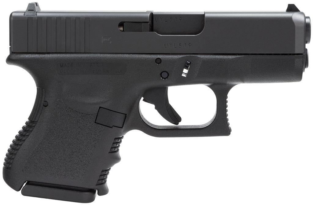 """Glock Standard 40 S&W 3.46"""" 9+1 FS Poly Grip/Frame Black"""