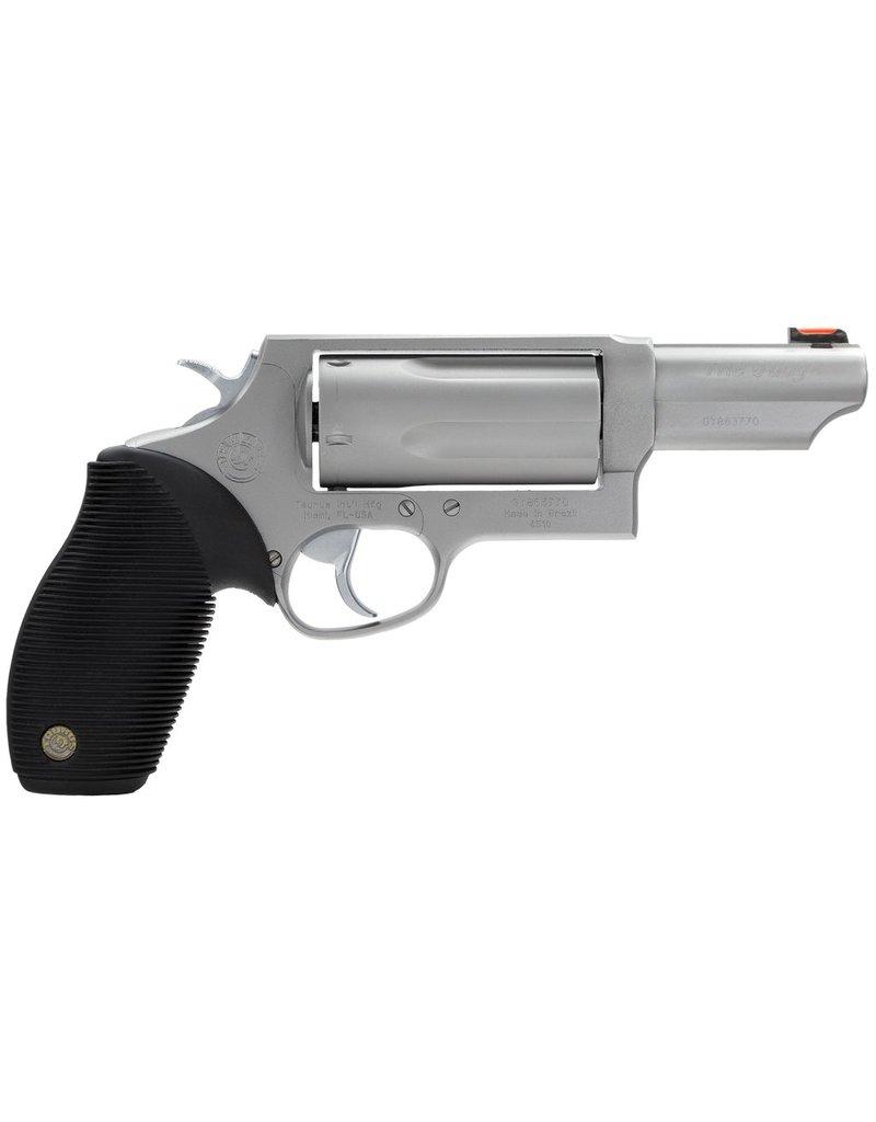"Taurus Judge Tracker Mag FO Sights 410/45LC 3"" 5rd Ribber Grip Matte SS"