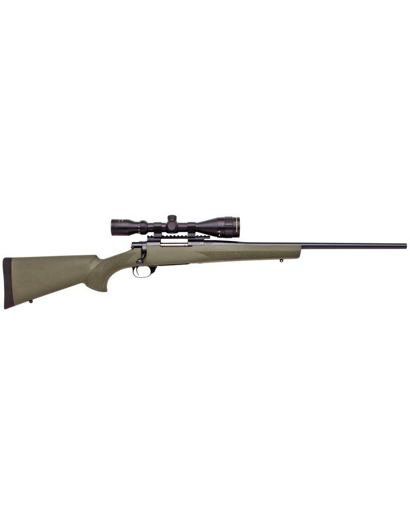 "Howa Howa + Hogue Gameking Scope Package Bolt 308 Winchester/7.62 NATO 22"" 5+1 Hogue Overmolded Green Stk Blued"
