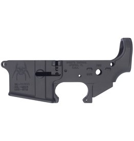 Spikes Tactical Spikes Stripped Lower Spider AR-15 Multi-Caliber Black