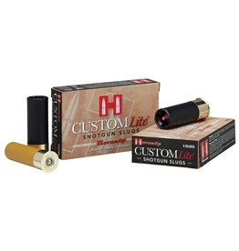 "Hornady Custom Lite 20 Gauge 2.75"" 250 GR Slug Shot 5 Bx/ 20 Cs"
