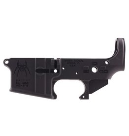 Spikes Tactical Stripped Lower Spider w/Bullet Markings AR-15 Multi-Cal Blk