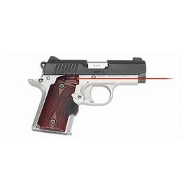 Kimber Stainless Rosewood with Red Laser