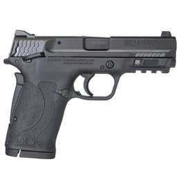 "Smith & Wesson M&P 380 Shield EZ Double 380 Automatic Colt Pistol (ACP) 3.675"" 8+1 Black Polymer Grip/Frame Grip Black Armornite Stainless Steel"