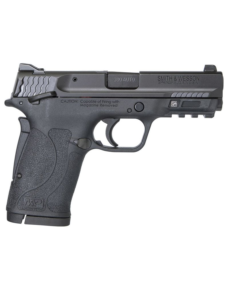 "Smith & Wesson M&P 380 Shield EZ Double 380 Automatic Colt Pistol (ACP) 3.675"" 8+1 Black Polymer Grip/Frame Grip Black Armornite Stainless Steel"