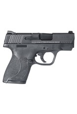 "Smith & Wesson M2.0 Double 9mm Luger 3.1"" 7+1/8+1 Black Polymer Grip/Frame Grip Black Armornite Stainless Stee"
