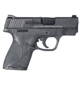 """Smith & Wesson M2.0 Double 9mm Luger 3.1"""" 7+1/8+1 Black Polymer Grip/Frame Grip Black Armornite Stainless Stee"""