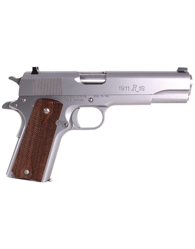 """Remington 45 ACP 5"""" 7+1 Double Diamond Walnut Grip SS"""