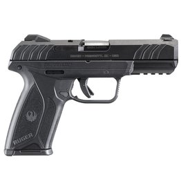 "RUGER Security9 Compact Double 9mm Luger 4"" 15+1 Black Polymer Grip Blued Steel"