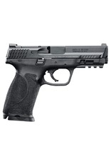 """Smith & Wesson M&P 9 M2.0 Double 9mm Luger 4.25"""" 17+1 Black Interchangeable Backstrap Grip Black Stainless Steel"""