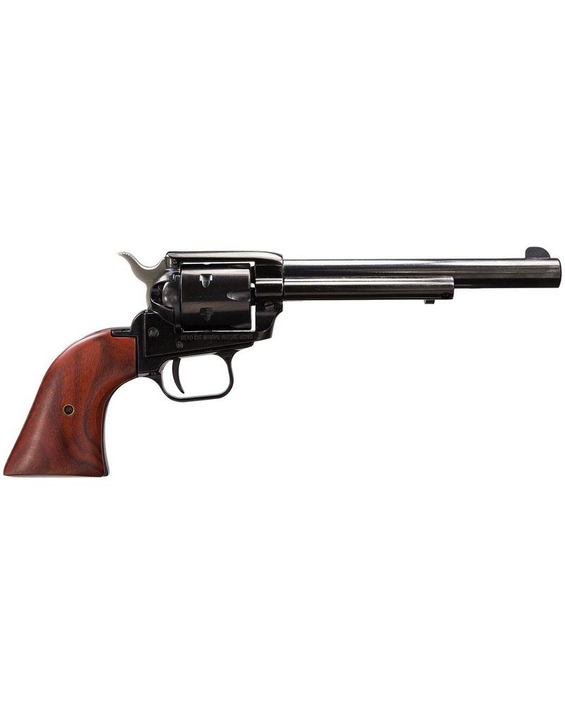 "Heritage Rough Rider 22LR/22 Mag 6.5"" 6rd Cocobolo Grip Blued"
