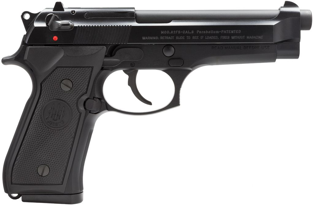 Beretta 9mm 4.9&quot; 15+1 Black Syn Grip Black<br /> American Inox