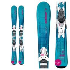 Elan Jr Starr QS Skis w. EL 4.5 Wht Bindings 2020