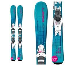 Elan Jr Starr QS Ski w/EL 7.5 Wht Bindings 2020