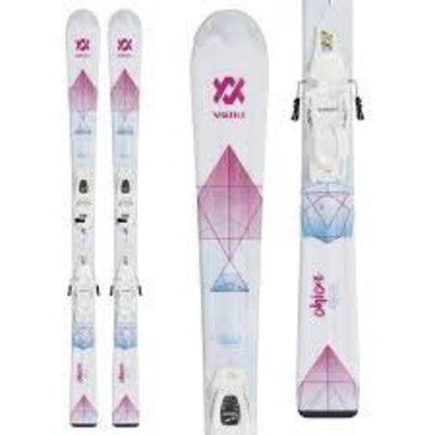 Volkl Chica Jr Girls Skis with vMotion Jr 7.0 Bindings 2019