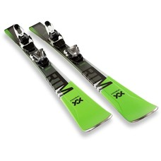 Volkl RTM 76 Skis With VMotion 10 GW Blk/Wht Bindings 2019