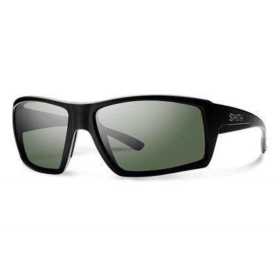 Smith Optics Challis Matte Black Polarized Gray Green Chromapop Polarized