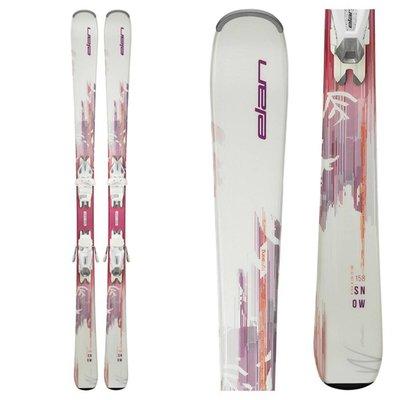 Elan Women's Snow LS Ski w/EL 7.5 AC Shift B78 White Bindings 2019