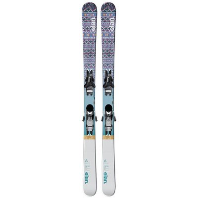 Elan Women's Twist LS Ski w/ EL 10.0 GW Shift Blk B90 WB Bindings 2019