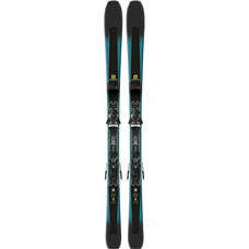 Salomon XDR 79 CF Skis W/ Z11 Walk L80 Blk/Wht Bindings 2019