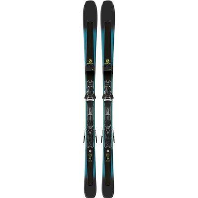 Salomon XDR 79 CF Skis W/ Z11 Walk L80 Blk/Wht Bindings 2019
