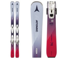 Atomic Women's Vantage X 74 Skis w/ Lithium 10 L80 Wht/Trans Bindings 2019