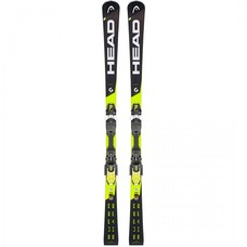 Head Supershape i.Speed SW Skis + PRD 12 GW Blk/Wht/Yel Binding  2019