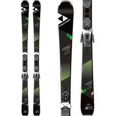 Fischer Pro Mtn Fire Ski w/RS 9 GW Bindings 2019