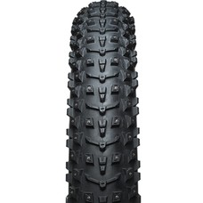 45NRTH Dillinger 5 Custom Studdable (Studs Not Included) Fat Bike Tire 26 x 4.8, Folding, 120tpi, Black