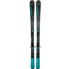 Elan Women's Element Black/Blue LS Skis w/ELW 9.0 GW Bindings 2019