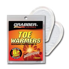 Grabber Toe Warmers Single Pack