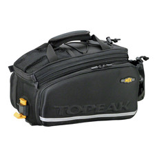 Topeak MTX TrunkBag DXP Rack Bag with Expandable Panniers: 22.6 Liter,