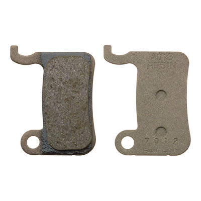 Shimano A01S Resin Disc Brake Pads and Spring for XTR BR-M975, Saint BR- M800, XT BR-M775, SLX BR-M665, LX BR-M585, BR-R505 Calipers