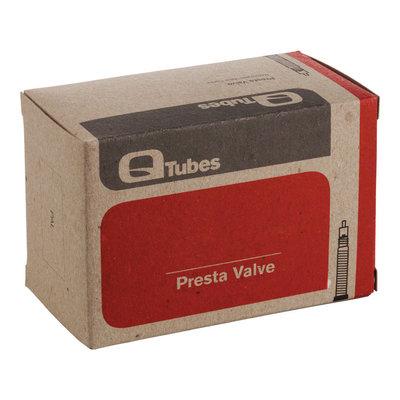 """Q-Tubes 26"""" x 1.9-2.125"""" 32mm Presta Valve Tube 170g"""