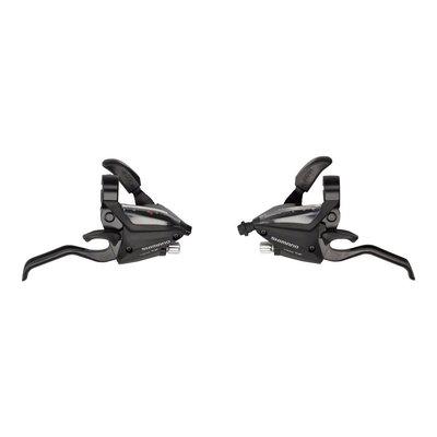 Shimano ST-EF500 3 x 8-Speed Brake/Shift Lever Set Black