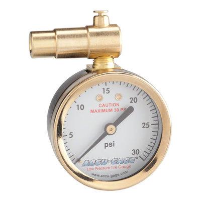 Meiser Presta-Valve Dial Gauge with Pressure Relief