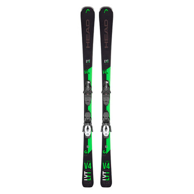 Head V-Shape V4 XL SW LYT Skis w/PR 10 GW Promo B85 Bk Bindings 2020