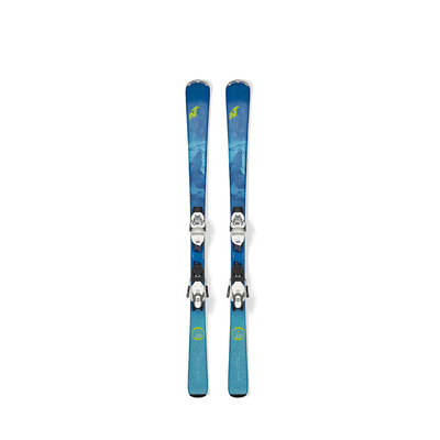 Nordica Women's Astral 74 CA Skis w/TP2 Compact 10 FDT Wht Binding 2020