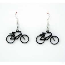 Angel City Lasercraft Acrylic Bicycle Earrings