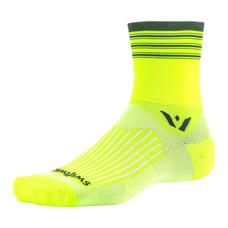 Swiftwick Aspire Four Stripe 4 Inch Socks
