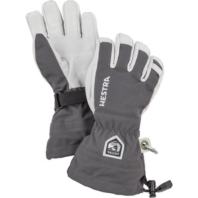 Hestra Kids' Army Leather Heli Ski Gloves 2020