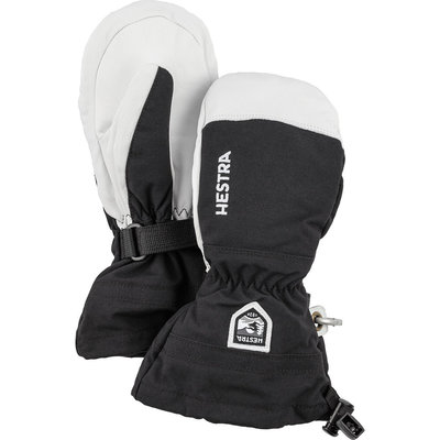 Hestra Kids' Army Leather Heli Ski Mitt 2021