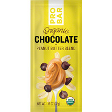 ProBar Organic Chocolate Peanut Butter, Box of 10