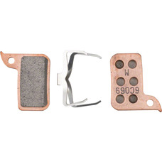 SRAM Disc Brake Pad Set Sintered with Steel Back fits Hydraulic Road Disc, Level Ultimate and Level TLM