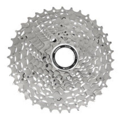 Shimano Deore M6000 CS-HG50 Cassette - 10 Speed, 11-36t, Silver, Nickel Plated