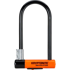 "Kryptonite Evolution Series U-Lock - 4 x 9"", Keyed, Black, Includes bracket"